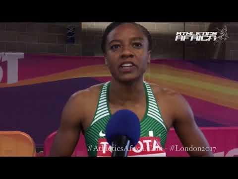 Lindsay Lindley (Nigeria) 100m Hurdles - London 2017 IAAF World Championships