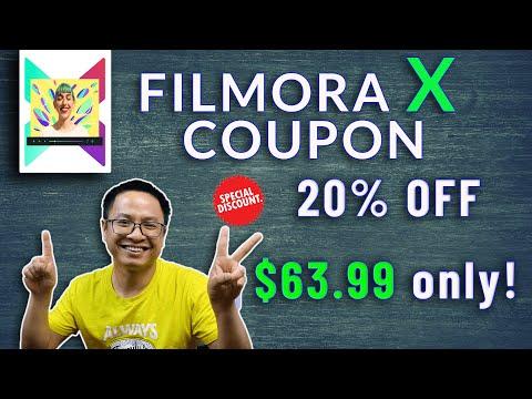 Save $12 (20% Off) Filmora Discount Coupon Code 2019 Updates