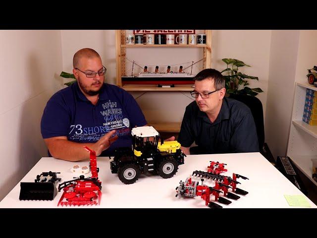 Review: Mould King 17019 Traktor gelb