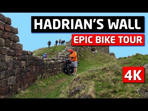 Hadrian's Wall Epic Bike Touring ADVENTURE!