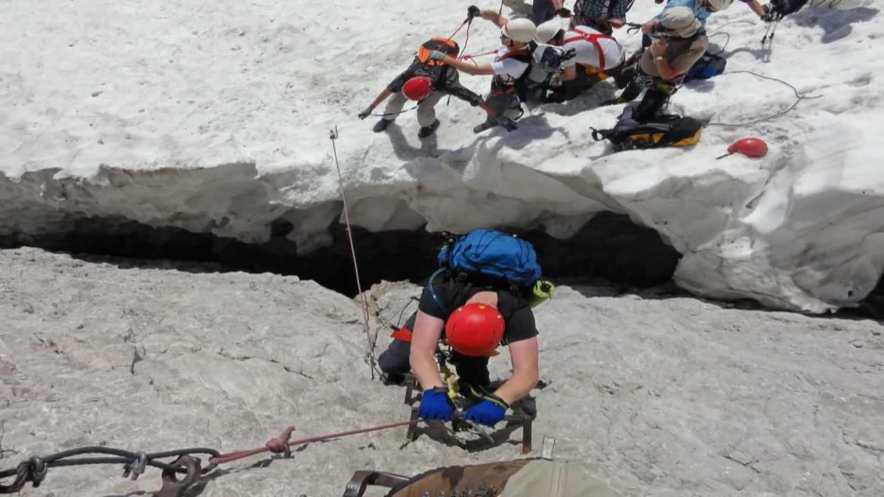 Klettersteig Zugspitze Höllental : Zugspitze über höllental leiter brett höllentalferner klettersteig