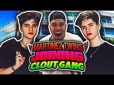 Thumbnail: MARTINEZ TWINS JOIN CLOUT GANG!! (TRUTH ABOUT JAKE PAUL)