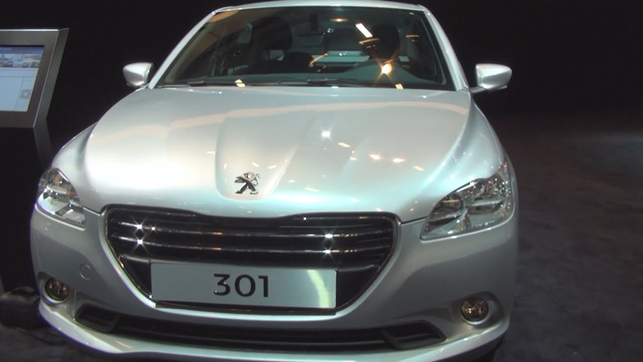 peugeot 301 (2015) exterior and interior in 3d - youtube