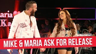 Mike & Maria Kanellis Reportedly Ask For Their Release From WWE