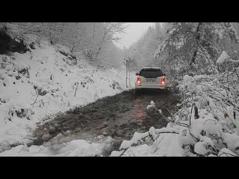 SsangYong Rexton W  Off Road Snow Trip Kocadağ Act Winter Nankang AT-5 Tires Kar Performans