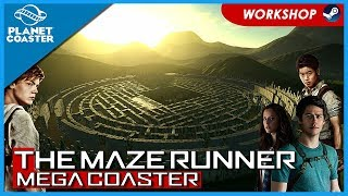 The Maze Runner: Mega Coaster! Coaster Spotlight 510 #PlanetCoaster
