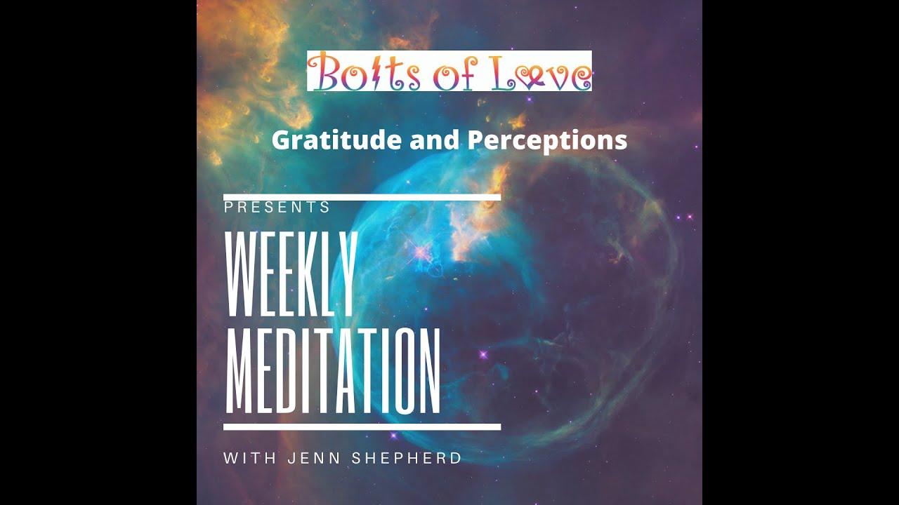 Weekly Meditation: Prosperity and Perceptions