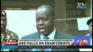 Axe falls on KCSE cheaters