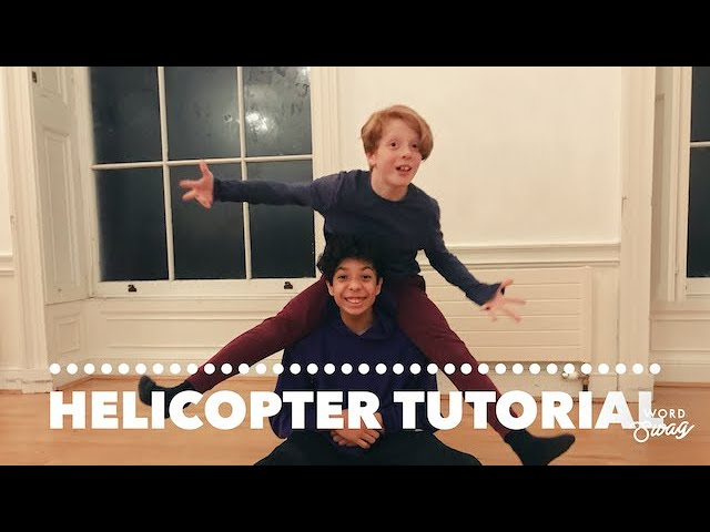 HELICOPTER TUTORIAL | Breakdancing Tutorial for Kids, BY KIDS | ZooNation Trained