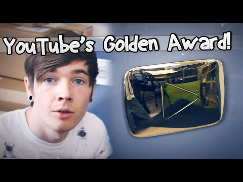 YOUTUBE'S GOLDEN AWARD! - TheDiamondMinecart