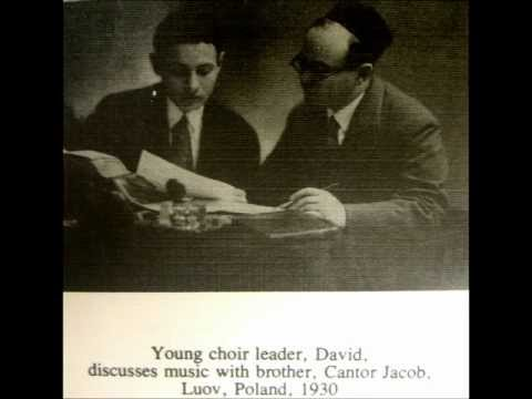 Cantor Jacob Koussevitzky Live Shacharis and Musaf Shabbos