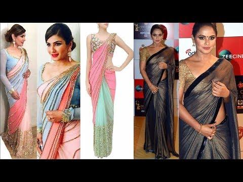 Glamorous Saree Designs 2018