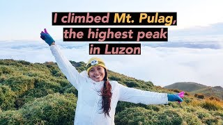 HIKING IN THE PHILIPPINES - Mt. Pulag 2017 | vlog_15