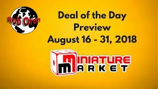 Miniature Markets Deals of the Day 8/16 to 8/31