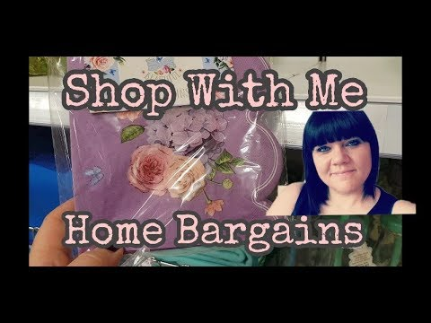 Home Bargains Shop with me & Haul - 17th May.
