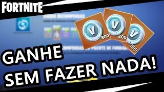 FARMAR V-BUCKS WITHOUT DOING ANYTHING! FORTNITE SAVE THE WORLD! ME SUPPORT MA SHOP WITH THE TAG: GUILHERM48