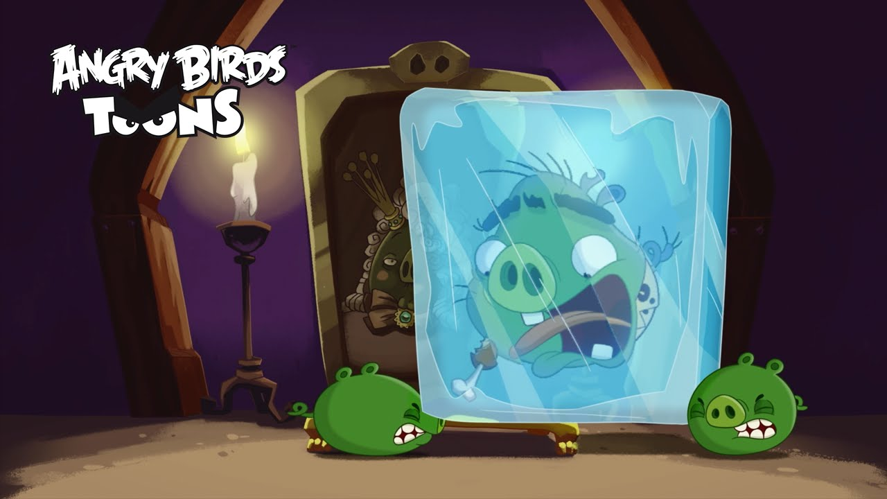 """Download Angry Birds Toons 2 Ep.9 Sneak Peek - """"Cave Pig"""""""