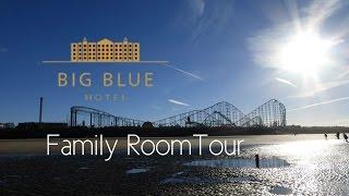 Big Blue Hotel Blackpool Family Room Tour