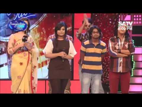 ANCHAL Last performance on BANGLADESHI IDOL - Bhebe Dekhecho Ki