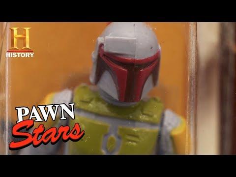 Pawn Stars: Rare Boba Fett Action Figure Prototype | History