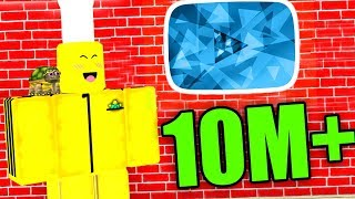 ROBLOX YOUTUBER SIMULATOR *10 MILLION SUBSCRIBERS*