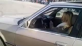 BMW E30 ile drift yapan kadın , Sevcan Özcan , İstanbul Park Intercity