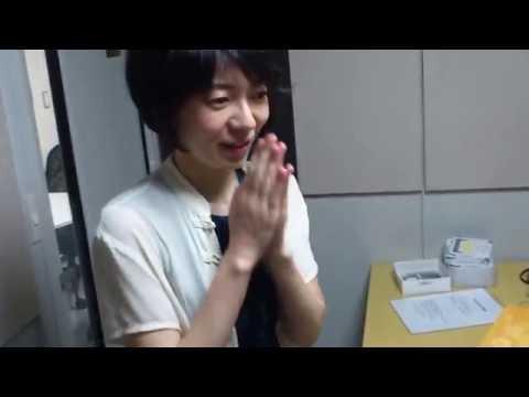 平井千絵さん、トイピアノのリハーサル 飯田有抄さんとOTTAVAスタジオにて