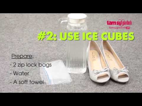 5 Tips to loosen your tight shoes
