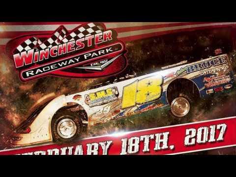 #J39 Jimmy Elliott - Crate Late Model - 2-18-17 Winchester Speedway - Winner - In-Car Camera