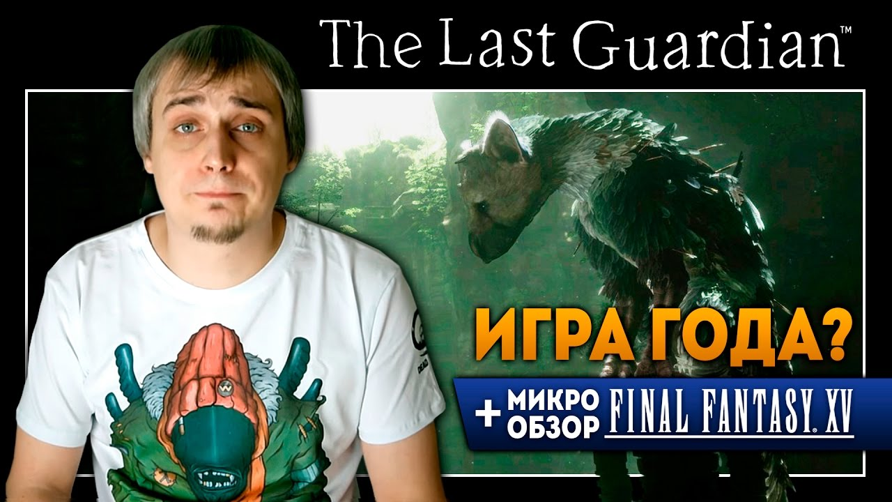 The Last Guardian  ИГРА ГОДА? Обзор  Youtube