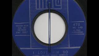 BOUQUETS - NO LOVE AT ALL / I LOVE HIM SO - MALA 472 - 1964