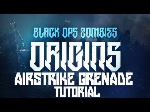 """AIRSTRIKE GRENADE!"" - Black Ops 2 ""ORIGINS"" Zombies TUTORIAL! (Easter Egg Weapon)"