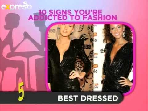 Parmalat Fabulite Top 10: 10 Signs You Are Addicted To Fashion  (26.2.2013)
