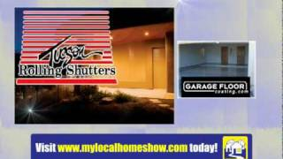 Tucson Rolling Shutters And Garage Floor Coating On My Local Home Show Tucson