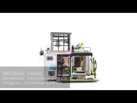 Robotime DIY Miniature Dollhouse - DG13 Kevin's Studio