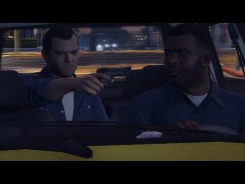 GTA V: How Franklin Met Michael