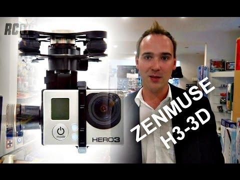 GIMBAL DJI ZENMUSE H3-3D Vs. H3-2D
