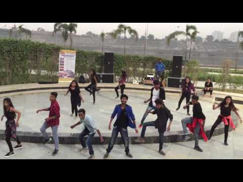 Flash mob full dance video imrt colleg gomti nagar eco lucknow  u.p