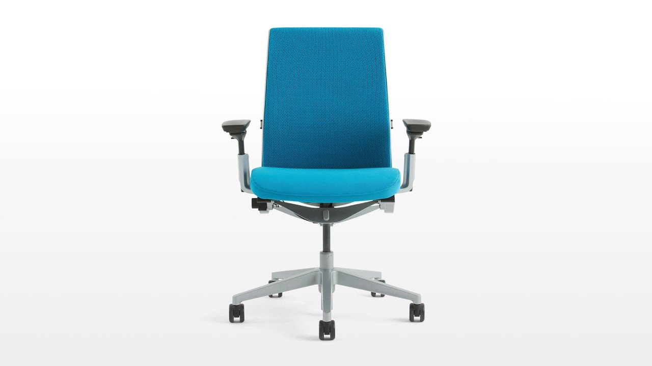 steelcase think chair review youtube