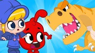 My Magic Pet Morphle - The Dinosaur Bandits | Full Episodes | Funny Cartoons for Kids | Moonbug TV