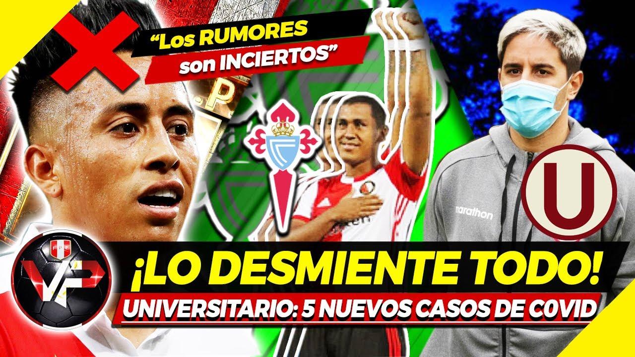 LO ÚLTIMO: 4 Futbolistas POSITIVOS en la 'U'   ESTUDIANTES DESMIENTE SOBRE CUEVA   Renato Tapia