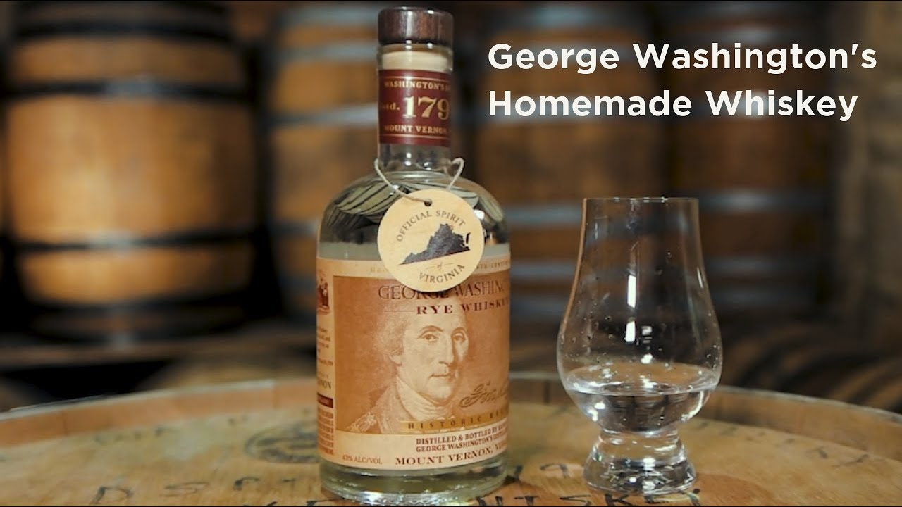 George Washington's Homemade Whisky