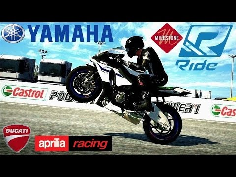 DUCATI Monster 1200S/APRILIA RSV4 Factory APRC ABS/YAMAHA YZF-RM1 Session Ride