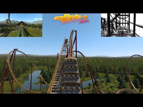 no limits 2: coaster reviews #8 -  talon, steamin bull, project 03.