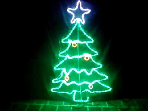 Led flashing christmas tree rope light motif by christmas alight led flashing christmas tree rope light motif by christmas alight aloadofball Gallery
