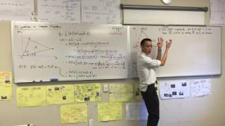 "HSC Question on Complex Numbers, Vectors & Polynomials (1 of 2: How to ""explain"")"