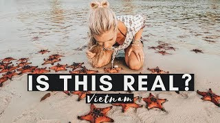 STARFISH BEACH | VIETNAM'S HIDDEN TREASURE | VIETNAM VLOG #006