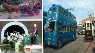 Trolleybuses, Trams, Canal Boats @ Black Country Living Museum + Dudley Canal Trust