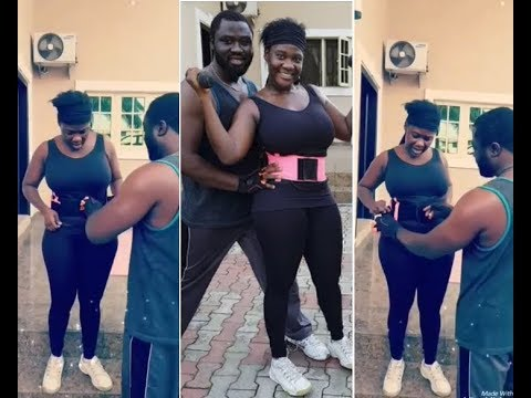 Mercy Johnson & Husband Shares Beautiful Workout Video