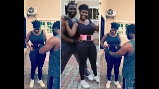 mercy johnson husband shares beautiful workout video